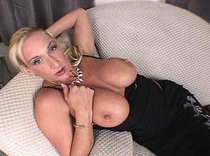 Busty blonde mom is a master of deep throat - XXXonXXX - Pic 1