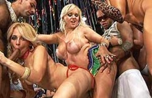 Awesome interracial orgy with lots of participants - XXXonXXX - Pic 3