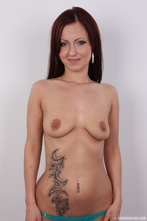 Cute young redhead chick with sexy tits, - XXX Dessert - Picture 11