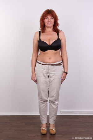 Hot matured sexy redhead milf shows big  - XXX Dessert - Picture 4