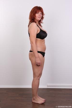 Hot matured sexy redhead milf shows big  - XXX Dessert - Picture 7