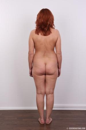 Hot matured sexy redhead milf shows big  - XXX Dessert - Picture 16