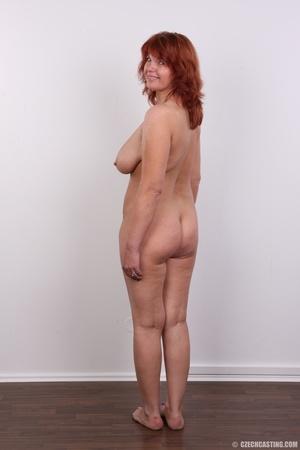 Hot matured sexy redhead milf shows big  - XXX Dessert - Picture 17