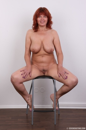 Hot matured sexy redhead milf shows big  - XXX Dessert - Picture 19