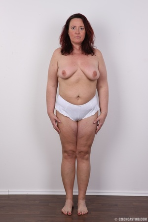 Chubby lusty redhead cute mama shows bou - XXX Dessert - Picture 13