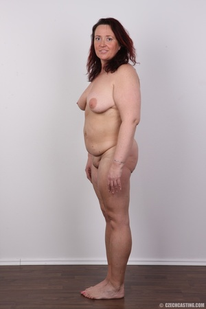 Chubby lusty redhead cute mama shows bou - XXX Dessert - Picture 18