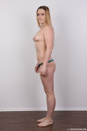 Sweet plump and ripe blonde with sexy sm - XXX Dessert - Picture 12