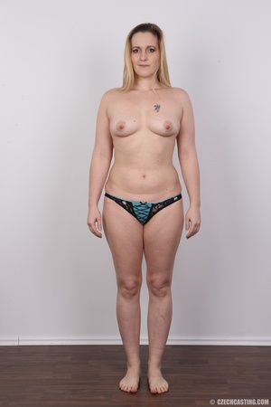 Sweet plump and ripe blonde with sexy sm - XXX Dessert - Picture 13
