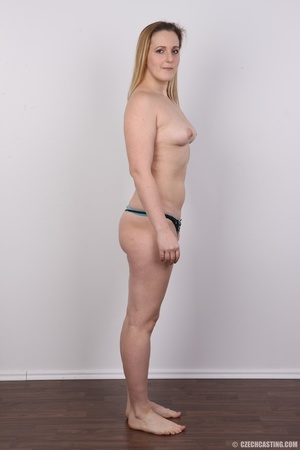 Sweet plump and ripe blonde with sexy sm - XXX Dessert - Picture 14