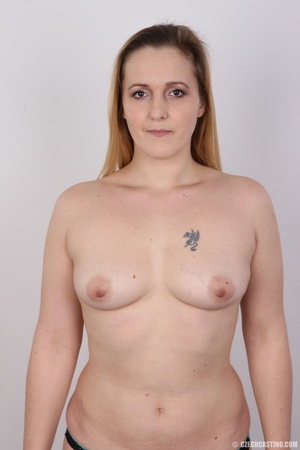 Sweet plump and ripe blonde with sexy sm - XXX Dessert - Picture 15