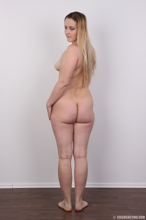 Sweet plump and ripe blonde with sexy sm - XXX Dessert - Picture 21