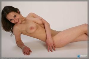 Sweet blonde freshie in ballerina suit splitting legs apart - XXXonXXX - Pic 5