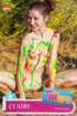Sweet slim teenies are ready to pose naked in various clothing and even