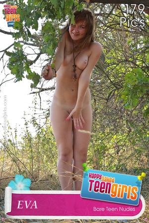 Bodacious teen vixens posing absolutely naked outdoors - XXXonXXX - Pic 5