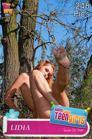 Bodacious teen vixens posing absolutely naked outdoors - XXXonXXX - Pic 6