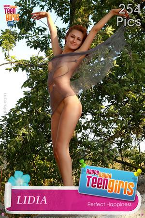 Bodacious teen vixens posing absolutely naked outdoors - XXXonXXX - Pic 8