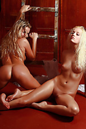 Randy oiled teeny babes exposing their insanely formed bodies. - XXXonXXX - Pic 6