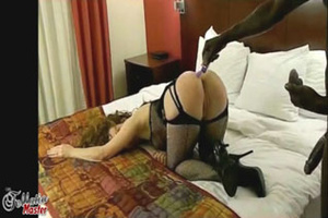 This slutty milf just loves to fuck with these two big black cocks. - XXXonXXX - Pic 3