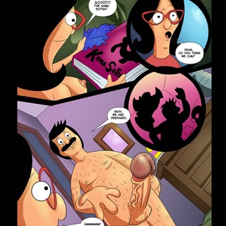 Bitch in glasses adores her hubby's long dong - Cartoon Sex - Picture 2