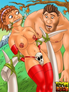 Awesome bondage, suspension scenes - Cartoon Sex - Picture 1