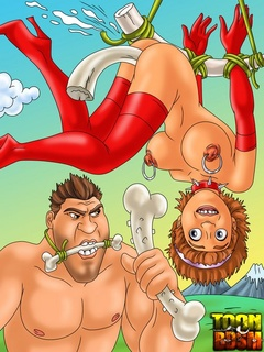 Awesome bondage, suspension scenes - Cartoon Sex - Picture 2