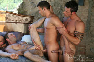 Horny Guys Just Love To Get Hardcore Fucked In A Gangbang. - XXXonXXX - Pic 7