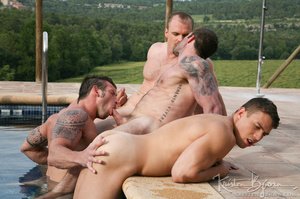 Horny Guys Just Love To Get Hardcore Fucked In A Gangbang. - XXXonXXX - Pic 14