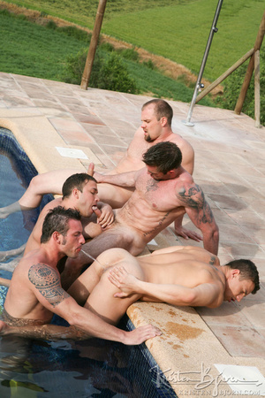 Horny Guys Just Love To Get Hardcore Fucked In A Gangbang. - XXXonXXX - Pic 17