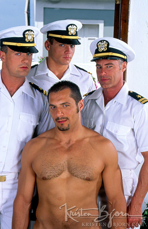 Horny Hot Sailors Having A Foursome On A Boat. - XXXonXXX - Pic 1