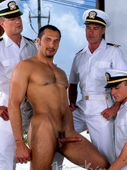 Horny Hot Sailors Having A Foursome On A Boat. - XXXonXXX - Pic 2