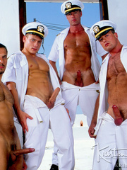 Horny Hot Sailors Having A Foursome On A Boat. - XXXonXXX - Pic 10