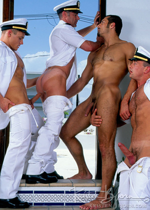 Horny Hot Sailors Having A Foursome On A Boat. - XXXonXXX - Pic 11