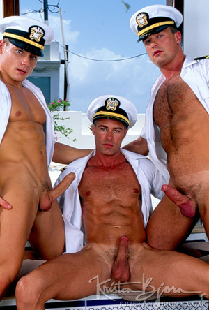 Horny Hot Sailors Having A Foursome On A Boat. - XXXonXXX - Pic 12