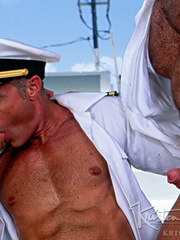 Horny Hot Sailors Having A Foursome On A Boat. - XXXonXXX - Pic 14