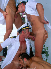 Horny Hot Sailors Having A Foursome On A Boat. - XXXonXXX - Pic 15