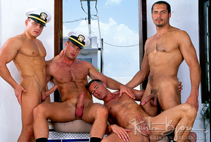Horny Hot Sailors Having A Foursome On A Boat. - XXXonXXX - Pic 16