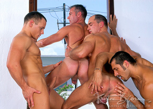 Horny Hot Sailors Having A Foursome On A Boat. - XXXonXXX - Pic 19
