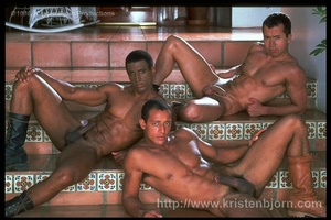 Wild Muscular Gays Fucking With Each Other And Sucking Each Other Off In A Interracial Threesome. - XXXonXXX - Pic 8