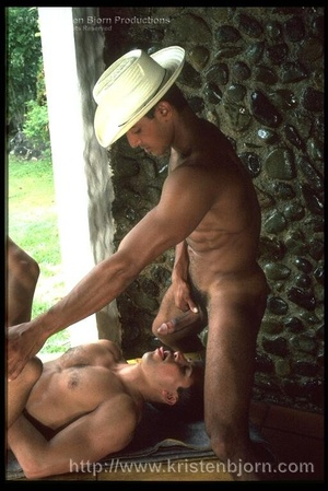 Wild Muscular Gays Fucking With Each Other And Sucking Each Other Off In A Interracial Threesome. - XXXonXXX - Pic 18