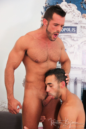 Wild gays swallowing cock and penetrating each other lustfully. - XXXonXXX - Pic 6