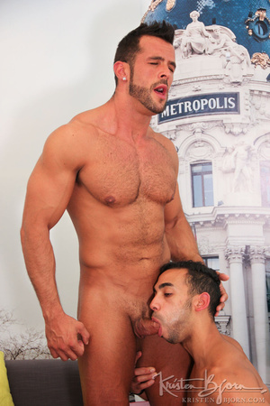 Wild gays swallowing cock and penetrating each other lustfully. - XXXonXXX - Pic 8