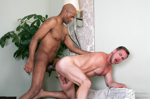 White guy just loves to swallow on his big cock and getting hardcore fucked. - XXXonXXX - Pic 17