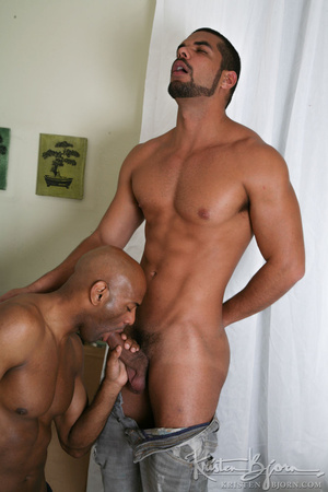 Black gays swallowing big dicks and fucking with each other. - XXXonXXX - Pic 10