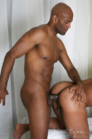 Black gays swallowing big dicks and fucking with each other. - XXXonXXX - Pic 20