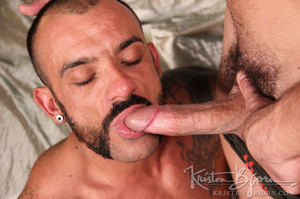 Sexy muscular guys swallowing each others dicks and having anal sex. - XXXonXXX - Pic 12