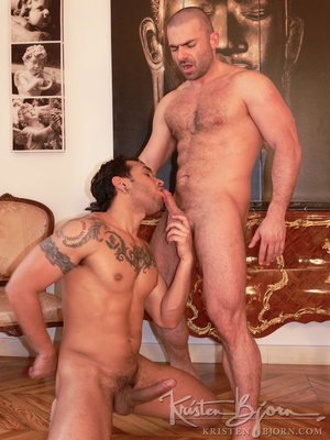 Hairy gay just loves to get his gorgeous ass hardcore pounded. - XXXonXXX - Pic 12