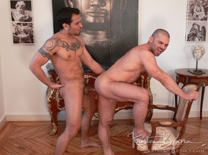 Hairy gay just loves to get his gorgeous ass hardcore pounded. - XXXonXXX - Pic 17