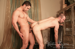 Passionate gays sucking each other off and penetrating each other. - XXXonXXX - Pic 22