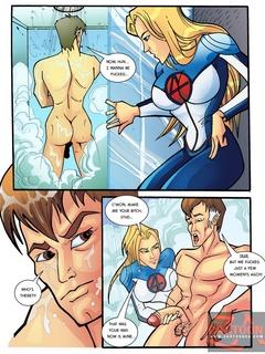 invisible man sex comics igfap