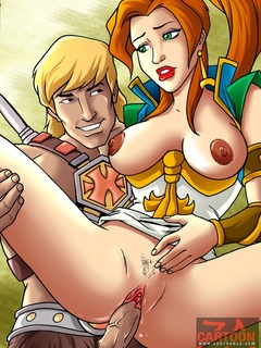 Cute hot looking chick and Egyptian princess - Cartoon Sex - Picture 2